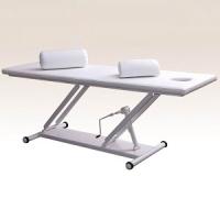 Массажный стол М-1 с механическим или гидравлическим регулятором высоты